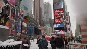 new york city ny november 23 digital billboards in times