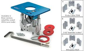bosch router table accessories kreg router lift lee valley tools