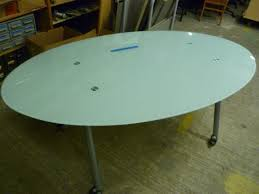 Frosted Glass Conference Table Portland State Surplus Ikea Galant Frosted Glass Rolling
