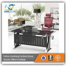 Modern Office Table With Glass Top Glass Office Table Design Glass Office Table Design Suppliers And