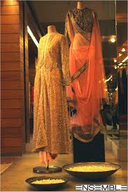anamika khanna u0027a collection for the first time at ensemble dlf