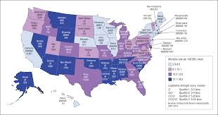 average rent per state firearm legislation and firearm related fatalities in the united