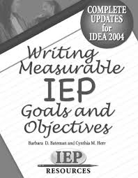 measurable iep goals and objectives sample attainment