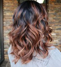 curly hair with lowlights 60 chocolate brown hair color ideas for brunettes caramel