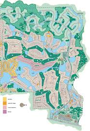 Weeki Wachee Florida Map by Master Site Plan Glenlakes Country Club Hernando County Golf