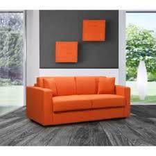 canapé convertible orange modern salon canapé convertible bonnie 4 places noir 199cm x