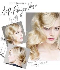 san francisco 1920 s hair stylist learn how to create a 20 s inspired soft finger wave do that