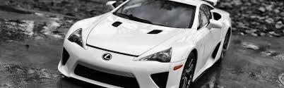 lexus wallpaper hd download wallpaper 3840x1200 lexus lfa supercar white front