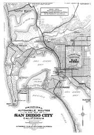 Map Of San Diego Neighborhoods by Automobile Club Of Southern California Maps Of San Diego