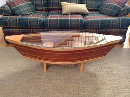 coffee table exciting boat coffee table ideas amazing brown oval
