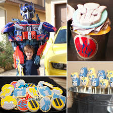 optimus prime birthday party transformers birthday party party worthy