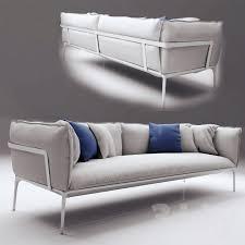 Yale Sofa Bed 3d Models Sofa Mdf Italia Yale Sofa