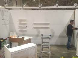 one of a kind show building the booth u2022 lindsay stephenson