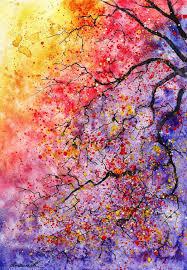 watercolor tree paintings watercolor trees anna and watercolor