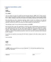 cancellation letter template 10 free word pdf documents