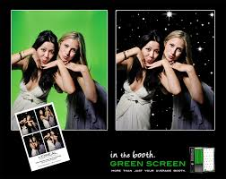 green screen photo booth lean and green screen in the booth