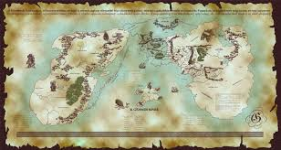map of erth map of middle earth from lord of the rings