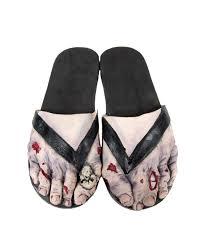 zombie feet with skull sandals halloween goods pinterest