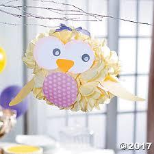 purple owl baby shower decorations paper owl baby shower décor idea