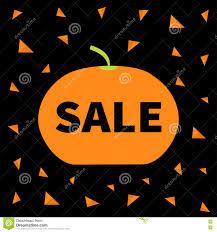 cute halloween pattern background cute pumpkin halloween big sale banner poster card flat design