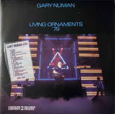 gary numan living ornaments 79 and 80 vinyl lp album at