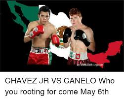 Canelo Meme - slo by www strik 1ngco chavez jr vs canelo who you rooting for come