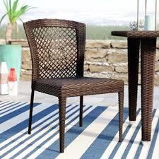 sling patio dining chairs you u0027ll love wayfair