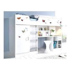 lit superpos combin bureau lit mezzanine armoire astonishing lit superpose collage commercial