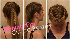 celtic warrior braids inspired by the film centurion youtube