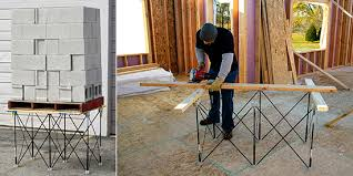 portable track saw table centipede portable work system