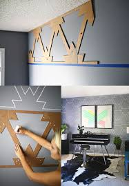 Cool Diy Wall Art by Diy Wall Paint Design Ideas Home Design U0026 Architecture Cilif Com