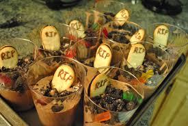 Dirt Cake For Halloween Halloween Dirt Cups Food Photo Blog