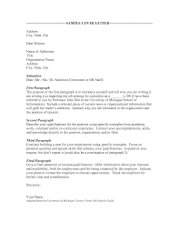 cover letter to resume cv cover letter