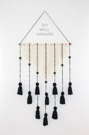 hanging picture best 25 yarn wall hanging ideas on pinterest yarn wall art