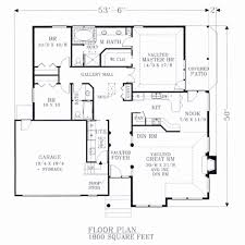 bungalow style floor plans beautiful 4 bedroom house plans 1800 sq ft house plan