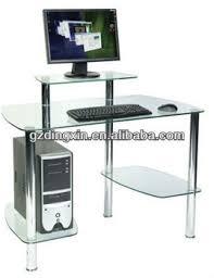 bureau imprimante lidl ordinateur portable et imprimante de bureau de table en verre