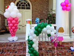 interior design simple candy themed birthday party decorations