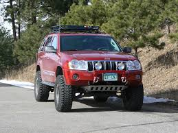 2006 jeep grand cherokee in red with bull bar winch google