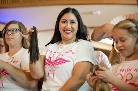 new hair cuts u0026 u0027dos benefit breast cancer survivors