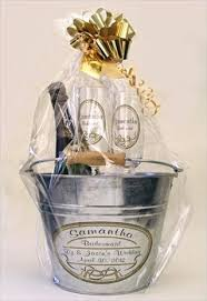 Champagne Gift Basket Wedding Gift Basket With Champagne Lading For