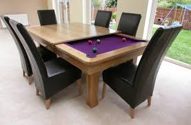 table dinner awesome pool table dining table combo