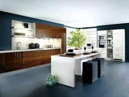 cuisine ouverte avec ilot central modele de cuisine americaine avec ilot central deco maison moderne