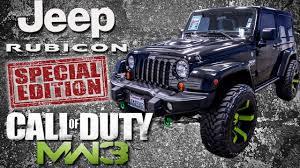 cod jeep black ops edition 2012 call of duty modern warfare 3 jeep wrangler rubicon