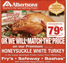 thanksgiving dinner from albertsons divascuisine
