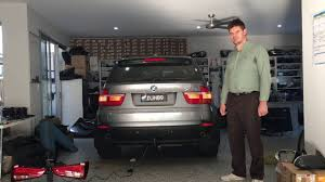 towing with bmw x5 bmw x5 e70 invisible detachable tow bar install by car