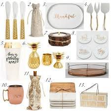 gift guide 2017 hostess gifts