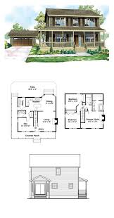 cottage country florida traditional house plan 60913 saltbox