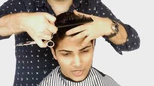mens tidal wave hair cut male model haircut thesalonguy youtube
