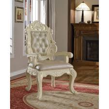 French Provincial Dining Room Chairs Meridian Furniture 702 10pc Set Madrid 10 Piece Dining Set In