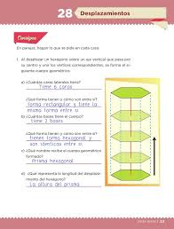 libro de matematicas 6 grado sep 2016 2017 desplazamientos desafío 28 desafíos matemáticos sexto contestado